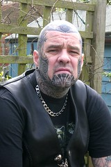 Would YOU smile...really ;-) (Bear & Rabbit (formerly BC&IKB)) Tags: leather tattoo tribal celtic moko knotwork bearhead facetattoo leatherbear beartattoo necktattoo scalptattoo headtattoo throattattoo facialtattoo bearshead tattooedneck blackngrey tattooedbear tattooedscalp chintattoo tattoobear suffolktattoo uktattoo tattooedchin tattooedthroat inkedinuk tattooedintheuk tattooedleatherbear tattooedleatherman