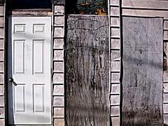 Blocked (2bmolar) Tags: doors blocked odc schuylkillcounty
