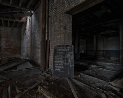 NO TOMORROW (riverrat18) Tags: abandoned factory decay clevelandohio urbanexploration decaying urbex industrialdecay