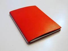 X47 Steel (Markus Rdder (ZoomLab)) Tags: leather notebook notes steel diary papier leder stift saarbrcken notizbuch notizen x47 x17 x47steel