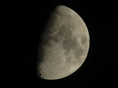Waxing Gibbous 66.7% Full (don1775) Tags: city moon boston night spring space satellite newengland astro luna astrophotography astronomy nightsky lunar dorchester waxinggibbous 2014 667full
