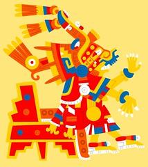 Xochiquetzal V2 (Gwendal_) Tags: red art strange beauty shirt female mexico weird sticker punk raw power god aztec drawing outsider goddess tshirt mexican brest bubble mexique sexual fertility gwen lowbrow breton dieu artiste brut xochiquetzal trange azteca gwendal centrifugue azteque graphiste aztque gwenboul figurationlibre uguen gwendalorg centrifuguefr