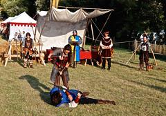 Castillon-la-Bataille, lieu de la dernière bataille de la guerre de 100 ans (1337-1453) (lesphotosdedaniel) Tags: combat chevaliers aquitaine castillonlabataille guerredecentans