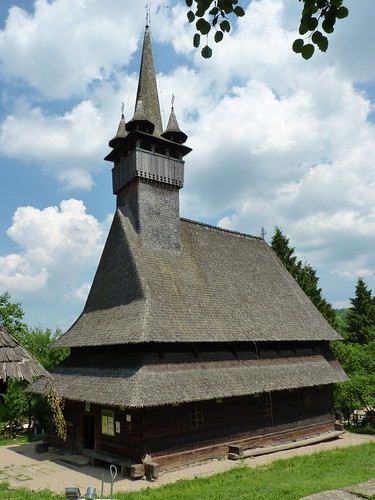 Budesti - church, Biserica de lemn Sfântul Nicolae., (3)