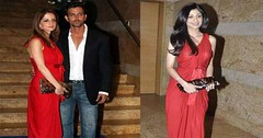 Sussanne Khan- Shilpa Shetty wearing same clothes (amasthakur68) Tags: shilpashetty sussannekhan