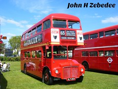 Preserved London Transport No. RM254, registration VLT 254. (johnzebedee) Tags: bus heritage rally transport hampshire routemaster southsea preservation rm londontransport busrally halfcab motorbus johnzebedee southdown100rally