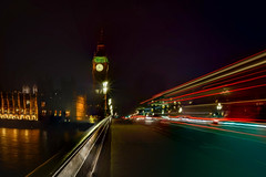 Big-Ben-Light-Trails-on-Westminster-Bridge-36 (FitzinCC) Tags: londonhdr