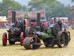 """""""Owd Joe"""" Steam Roller and Traction Engine (New Discoveries) Tags: cheshire traction fair joe steam roller fowler owd"""