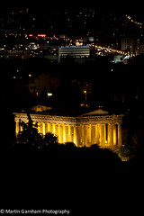 The Temple of Hephaestus (Garnham Photography) Tags: old nightphotography history monument architecture night port greek temple coast ancient ruins europe columns landmark athens historic hephaestus greece coastal coastline column acropolis athena touristattractions piraeus attica greektemple traveldestinations templeofhephaestus touristdestination traveldestination ancientagoraofathens builtstructure
