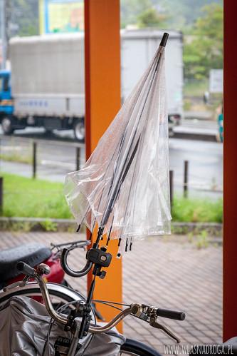 Parasol rowerowy