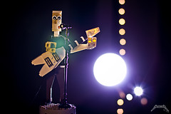 metallica - james hetfield (Zed_43) Tags: lego moc metallica james hetfield bop brickpirate concert metal rock hard gibson flying v