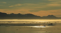 Nyhavn (12) (Richard Collier - Wildlife and Travel Photography) Tags: arctic greenland landscape seascape nyhavn sunset mountains coastline