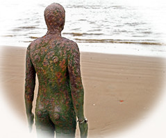 Back (bill.wilkes57) Tags: anotherplace anthonygormley crosby liverpool seaside statues