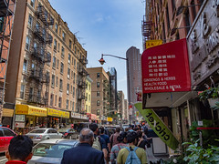 Chinatown, New York (Anthony's Olympus Adventures) Tags: newyorkcity newyork newyorkny manhattan cityscape streetscape street nyc ny usa america olympusem10 olympus olympusomd thebigapple chinatown people crazy building chinese china walk photo photography travel urban