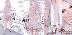 Post 336: I like my Lindens where I can see them...hanging in my closet. (Paula Matsuo) Tags: candydoll alme dajuboutique reign runaway lelutka maitreya euphoric arcade whorecouture