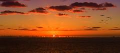 Civilization Raging Afar (Chuck LaChance) Tags: miami florida sunset water