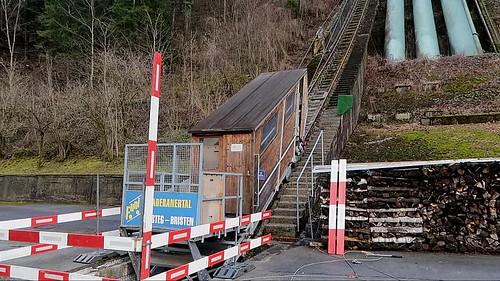 Funicular Amsteg - Bristen Reactivated