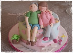 Anniversary cake (qualcosa di dolce) Tags: cake decorated anniversarycake