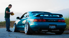 The Instant Car Wash (Nigel Adashefski) Tags: california road mountain car southern wash toyota instant mr2 gerard slammed glendora stanced fittedkids