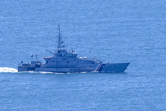 UK Border Agency Cutter off Chesil Beach (tudedude) Tags: portland dorset chesilbeach gbr tudedude ukborderagency