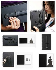 Unique Black 4 Series Armed Notebook - DX (DX_fans) Tags: black notebook unique 4 series dx armed homegarden stationeries dealextreme paperpads dxcom uniqueblack4seriesarmednotebook