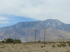 (stevehuang7) Tags: california mountains sand desert telephonepoles windfarms
