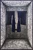 """Mixed Media Installation by 塩田千春 Chiharu Shiota (b. 1972 Japan): State of Being: Boy's Kimono, 2013 (Metal, kimono, black thread)"" / Galerie Daniel Templon / Art Basel Hong Kong 2013 / SML.20130523.6D.14043 (See-ming Lee (SML)) Tags: china blue urban sculpture hk paris france art colors thread japan metal cn photography hongkong crazy events fineart photojournalism clothes installation creativecommons kimono 中国 城市 香港 hkg journalism 中國 6d 色 artbasel 藍 摄影 canon1740f4l 攝影 蓝 新聞 2013 新聞攝影 ccby seeminglee canonef1740f4lusm 塩田千春 canon6d smlprojects crazyisgood 李思明 smlfineart smluniverse chiharushiota canoneos6d smlphotography galeriedanieltemplon shiotachiharu smlevents danieltemplon abhk SML:Projects=crazyisgood fl2fbp SML:Projects=photojournalism SML:Projects=smlfineart artbaselhongkong2013"