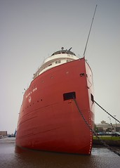 William A. Irvin (rexp2) Tags: museum boat ship greatlakes steamer lakesuperior laker freighter straightdeck sonynex5n voigtlander15mmf45ltmrangefinder vacation2013spring