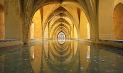 Reflections of Sevilla - EXPLORED! - Thank you (Fotomondeo) Tags: sevilla seville losbañosdedoñamaríadepadilla andalucia andalusia españa spain reflections reflejos architecture arquitectura aqua water sigma1020mm nikon nikond7000 wow
