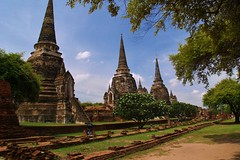 Ayutthaya (iTimbo61) Tags: travel travelling architecture buildings asian thailand temple ancient worship asia buddha stupa buddhist buddhism olympus om1 watt ayutthaya e500 travelphotography olympuscameras
