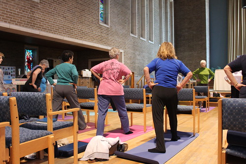 Chair Yoga - Health and Wellness - April 2013 (15)