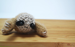crochet sloth amigurumi (mohu mohu) Tags: cute animals toy stuffed doll soft handmade crochet plush sloth plushie collectible amigurumi mohu mohustore