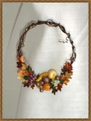 GRAPEVINE WREATH (minteriorsbyjessie) Tags: autumn miniatures wreaths dollhouses
