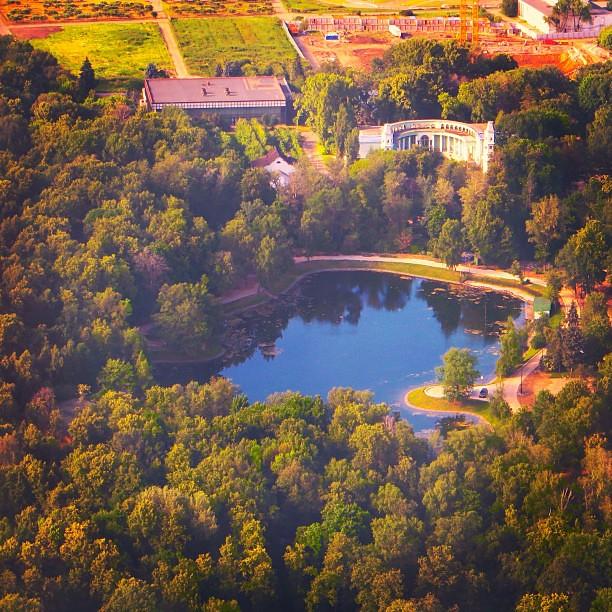 фото: #природа #озеро #ботаническийсад #москва