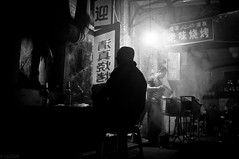 哈尔滨道外区 (SinoLaZZeR) Tags: china street people blackandwhite bw heilongjiang blackwhite asia fuji district streetphotography documentary finepix ren fujifilm 中国 黑白 harbin reportage haerbin 人 哈尔滨 zhongguo 东北 黑龙江 x100 dongbei 亚洲 yazhou daowai 道外 道外区