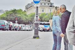 2013-06-22 -  Les amoureux du Pont au change (P.K. - Paris) Tags: street people paris june french juin kiss kissing couple candid lovers amour bisou lover smack baiser amoureux 2013 photosderue gensdanslarue