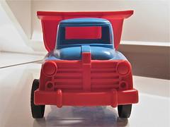 60s Plastic Toy Truck (ClassicsOnTheStreet) Tags: amsterdam truck toy toys model 60s plastic lorry camion kipper 1960s spielzeug jouet vrachtwagen lastwagen jouets lkw speelgoed lastbil vrachtauto 2013 kamion speelgoedauto zandwagen