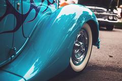 Ford Coupe (Garret Voight) Tags: show street old classic car minnesota vintage fairgrounds automobile bokeh automotive retro american 1950s hotrod custom saintpaul backtothe50s