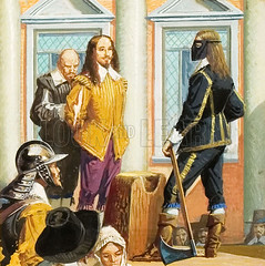The execution of king Charles I (ellierolley) Tags: london civilwar axe soldiers execution executioner kingcharlesi