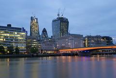 ...and some minutes later... (Theocharis Kalamaras) Tags: city england london thames londonbridge skyscrapers riverside southbank