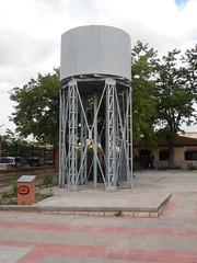 """Depósito de agua en la estación de La Poveda - CIFVM <a style=""""margin-left:10px; font-size:0.8em;"""" href=""""http://www.flickr.com/photos/67776226@N07/9185065103/"""" target=""""_blank"""">@flickr</a>"""