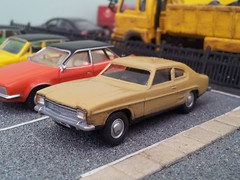 Crapri (quicksilver coaches) Tags: ford capri model lima plastic oo 176 code3 oxforddiecast