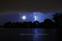 DSC_0516CCR_TXT_CPYRT_KWP2013_W (KEN W. PHILLIPS PHOTO) Tags: moon storm thunderstorm lightning tornado stormclouds nightskies stormfronts lightningstrikes stormsatnight stormoverwater onceinalifetimecapture