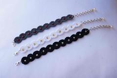delizie di colore_003 Per Marinella - Bracciale Uncinetto (Gioie di Lill) Tags: beads knitting crochet jewelry bracelet bracciale braccialetto uncinetto