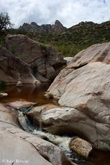 Romero Pools (isaac.borrego) Tags: arizona mountains water waterfall rocks tucson canyon falls pools catalinamountains catalinastatepark romeropools canonrebelxsi