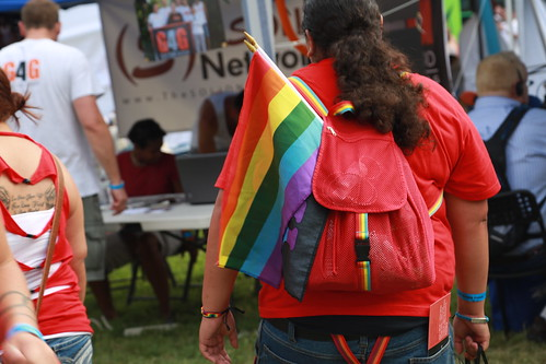 AHF at Dallas Pride (9/15/13)