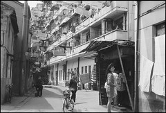 Shanghai上海1994 part5 Renmin Road 人民路-36 (8hai - photography) Tags: road shanghai yang ren 上海 1994 bahai hui min renmin part5 人民路 yanghui shanghai上海1994