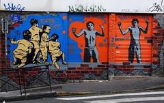 Marseille - Brick City (Ivan Dessi) Tags: street streetart france muro art wall graffiti marseille mural strada fuji spray writers fujifilm murales francia marsiglia x10 muralpainting fujilmx10