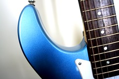 Yamaha 6 (Sudev Bangah) Tags: blue guitar 110 yamaha pacifica cheap stratocaster pelham