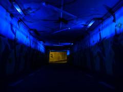 Follow the light (The Adventurous Eye) Tags: light tunnel follow underway podchod barevn